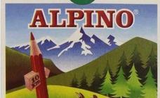 ¿Qué significa el cartel de 10 km de las cajas de lápices Alpino?