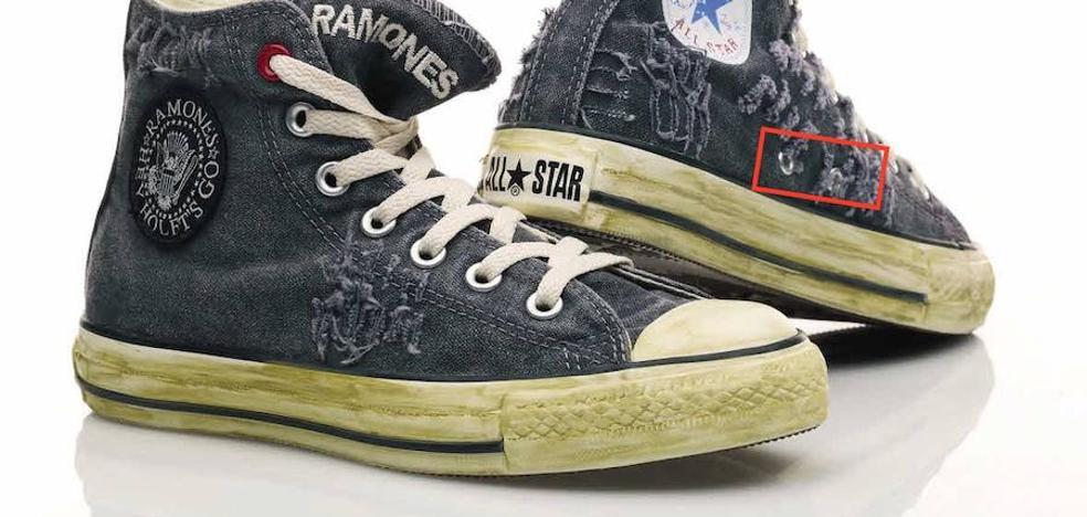 ¿Sabías qué utilidad tienen los agujeros laterales de las zapatillas?