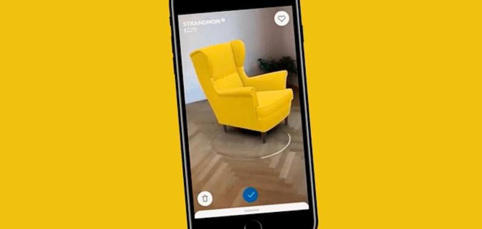 Con esta app podrás ver cómo quedan los muebles en tu casa antes de comprarlos