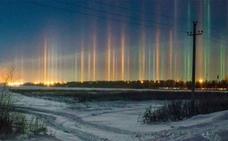 ¿Por qué se forman los misteriosos pilares de luz?