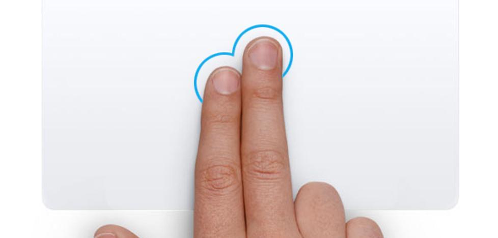 Gestos para sacar el máximo partido al touchpad de tu portátil