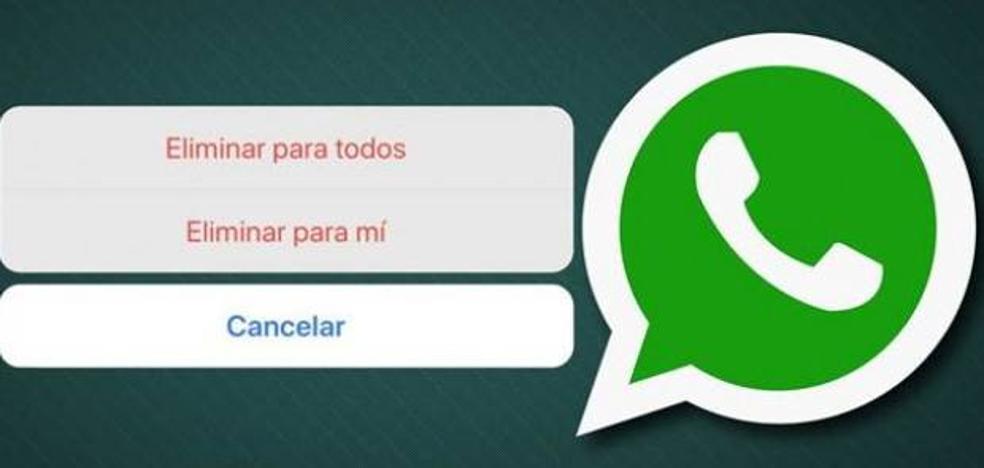 Este truco permite eliminar mensajes de Whatsapp aunque hayan pasado los 7 minutos