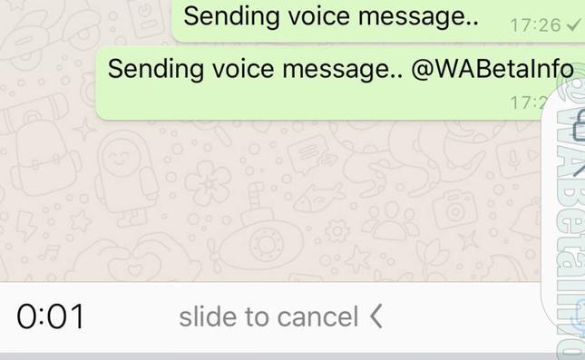 Whatsapp eliminará la necesidad de mantener el botón del micrófono pulsado para enviar notas de voz