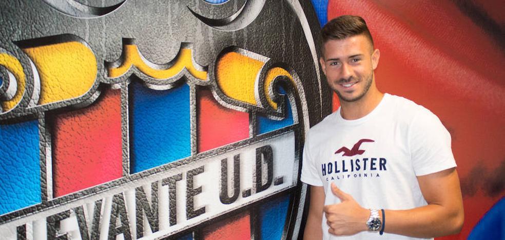 Koke Vegas, tres temporadas más en el Levante UD