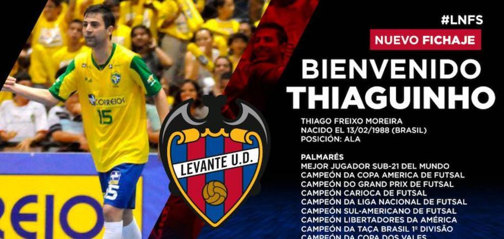 Thiaguinho Freixo, nuevo jugador del Levante UD FS