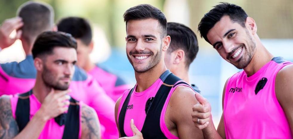 Levante UD | Chema se entrenará hoy con una máscara protectora