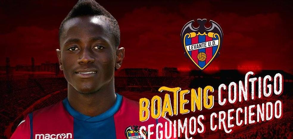 El Levante UD hace oficial el fichaje de Boateng