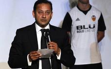 Anil Murthy estrena presidencia para mejorar el equipo y hacer un Valencia CF sostenible