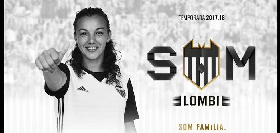 El Valencia Femenino ficha a 'Lombi' procedente del RCD Espanyol