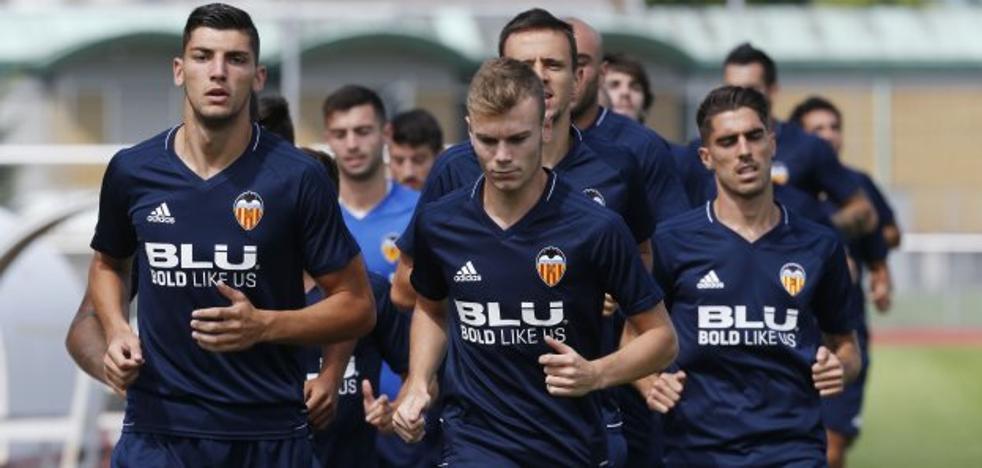 Canteranos del Valencia CF listos para romper el muro