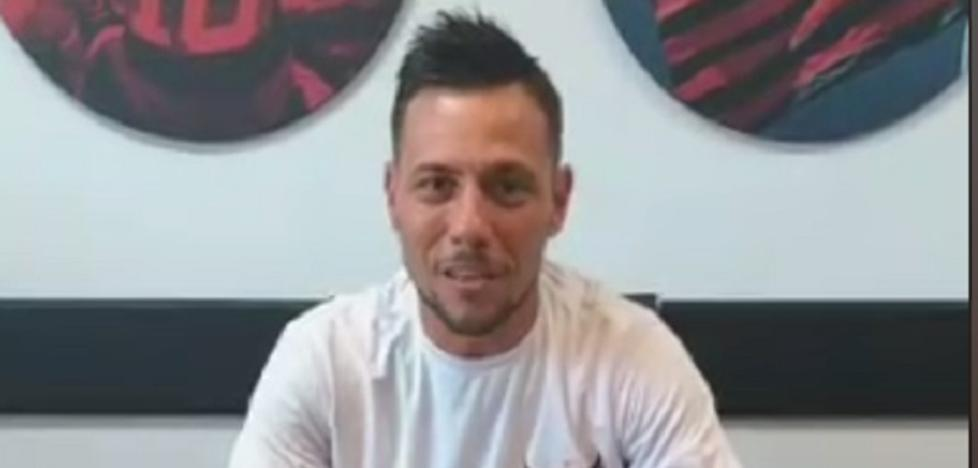 El lapsus valencianista de Diego Alves al firmar su contrato con el Flamengo
