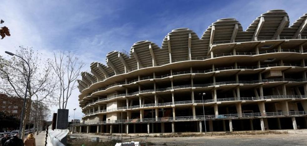 El Valencia CF sólo retomará el nuevo Mestalla si enlaza varios años en Champions