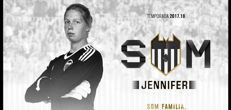 El Valencia CF Femenino se hace con Jennifer Vreugdenhil