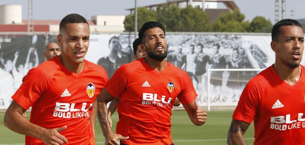 Maksimovic, Rodrigo y Garay vuelven a Valencia