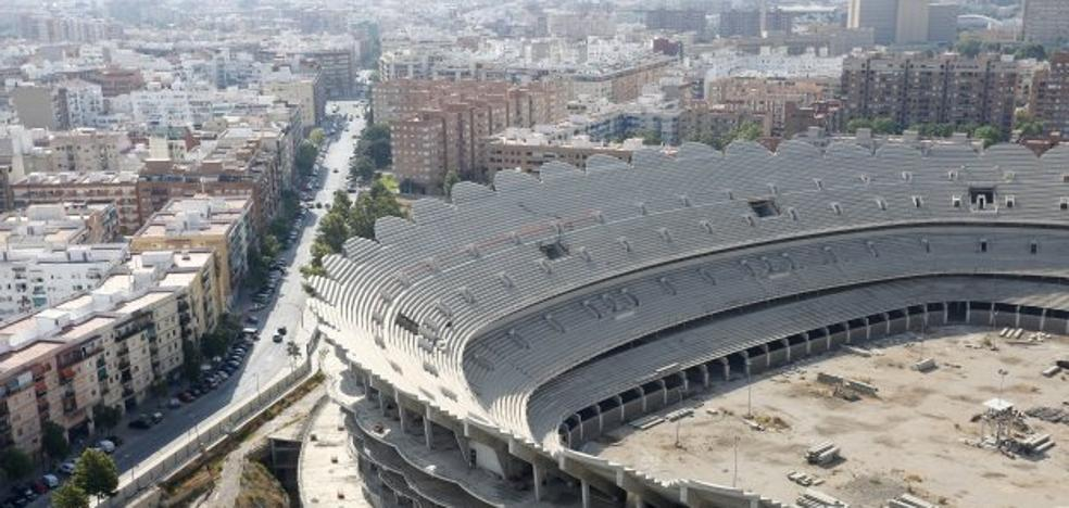 El nuevo Mestalla, la decadencia de un estadio sin estrenar