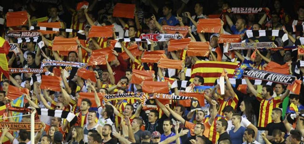 El Valencia CF readmite a los aficionados de la Curva Nord que fueron expulsados
