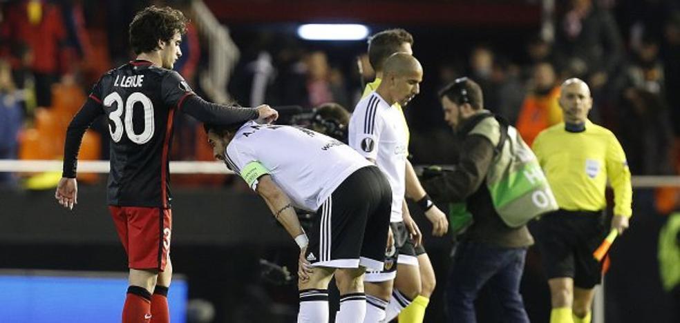 El hundimiento europeo del Valencia CF