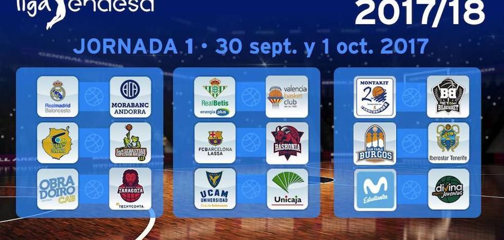 Calendario del Valencia Basket en la Liga Endesa 2017/18