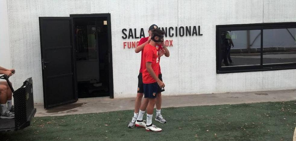 Valencia CF | Una máscara para Nacho Vidal