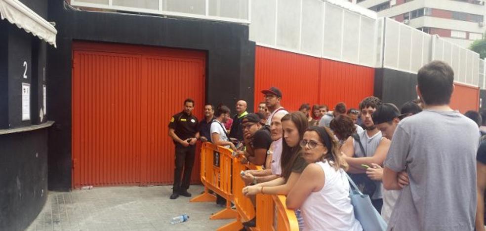 Ruptura en el Valencia CF a causa de las entradas