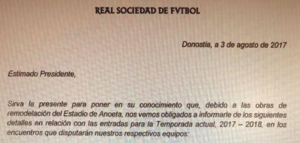 Las peñas del Valencia CF no viajarán a San Sebastián por reformas en Anoeta