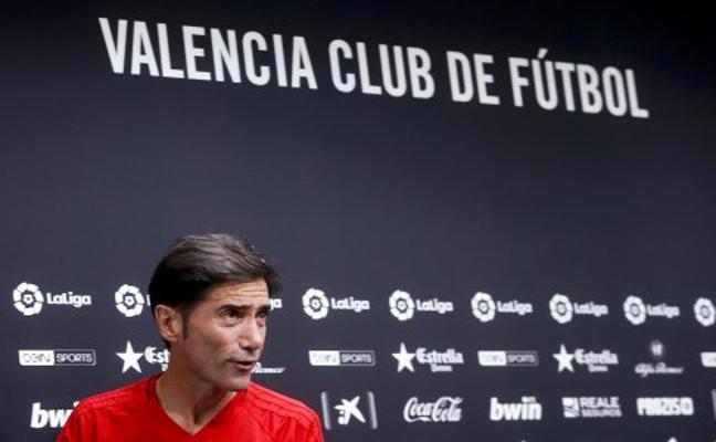 Marcelino proclama su admiración por Rodrigo