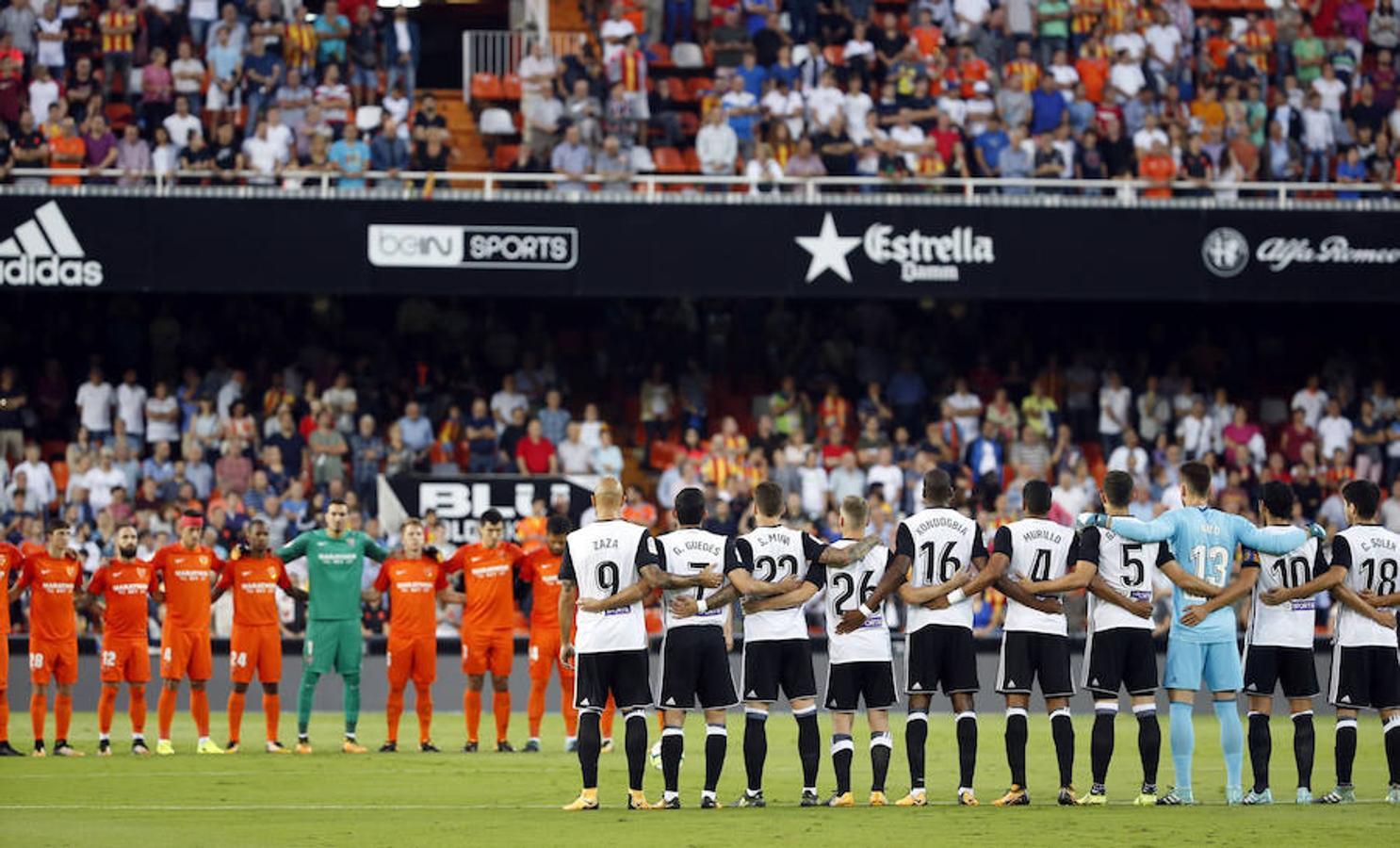 Fotos del Valencia CF-Málaga CF