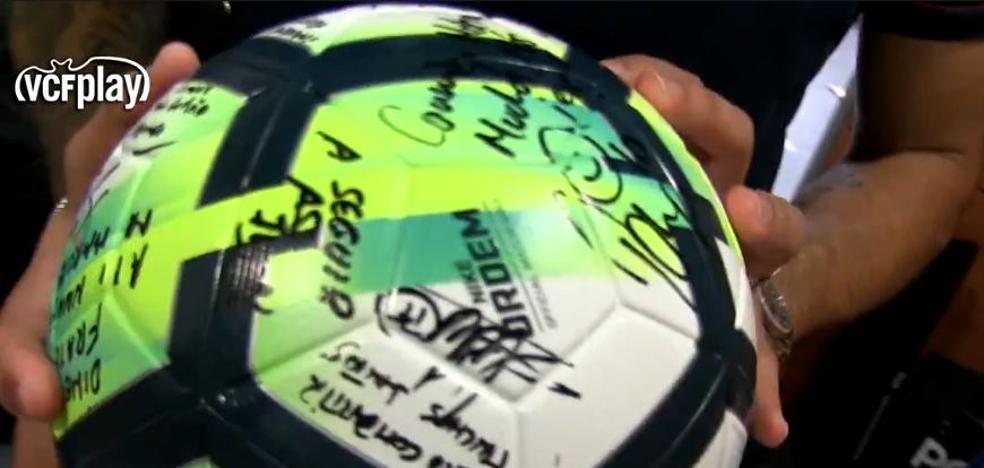 Las dedicatorias a Zaza tras su hat-trick al Málaga