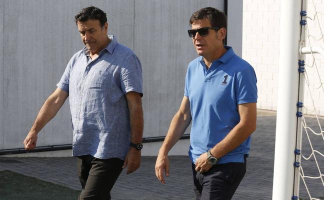 El Valencia CF despide a Alesanco