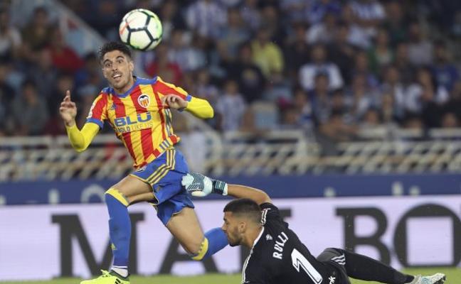 Valencia CF: Guedes salió de la lámpara