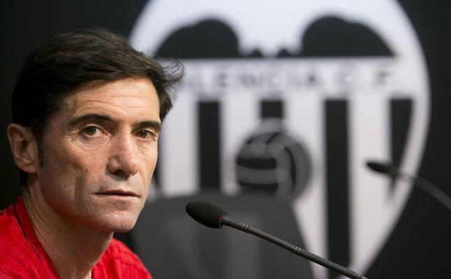 Valencia CF   Marcelino: «Yo no voy a fichar. Vine aquí a entrenar la primera plantilla»