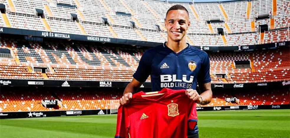 El valencianista Rodrigo Moreno, convocado por la selección española
