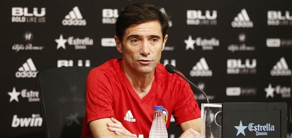 Valencia CF | Marcelino: «¿Setién? Yo no competí contra nadie para entrenar aquí»
