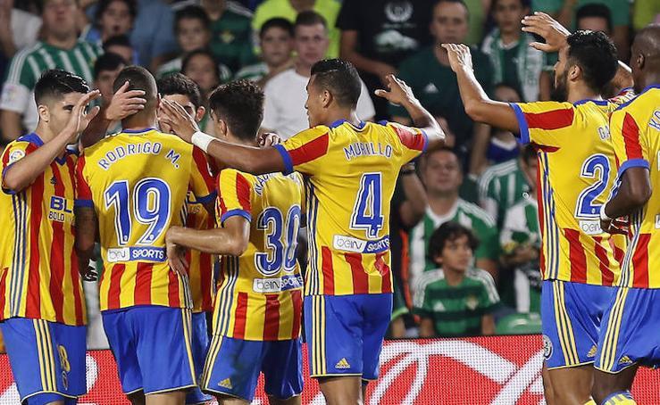 Fotos del Betis-Valencia CF