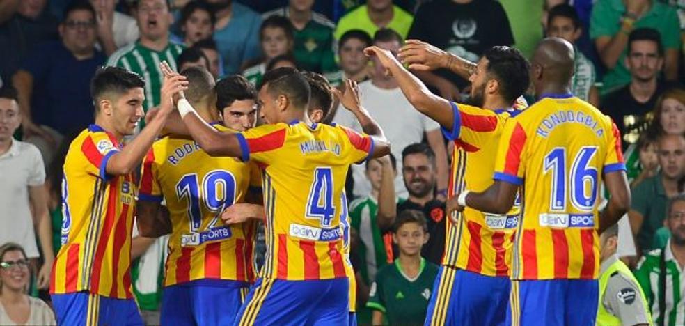 La goleada del Valencia CF al Real Betis entra en la historia