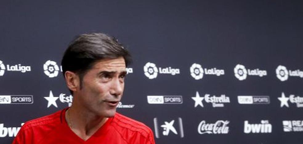 Valencia CF | Marcelino: «Imagino un Mestalla lleno porque estos futbolistas se lo merecen»
