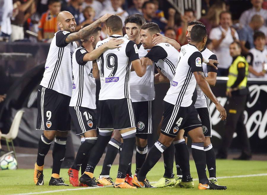 Fotos del Valencia CF - Sevilla FC en Mestalla
