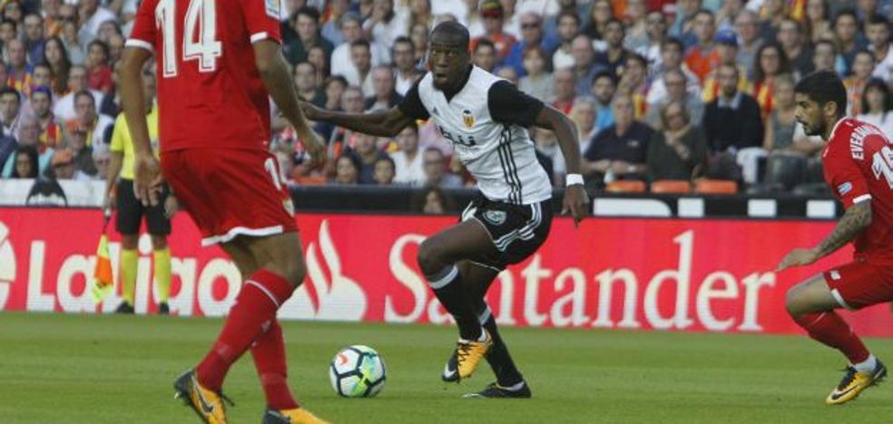 Valencia CF | Kondogbia se pierde la primera elimintoria de la Copa del Rey por una sanción de 2013