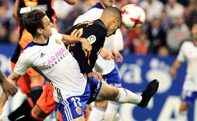 Real Zaragoza - Valencia CF: Rodrigo saborea su nueva vida (0-2)