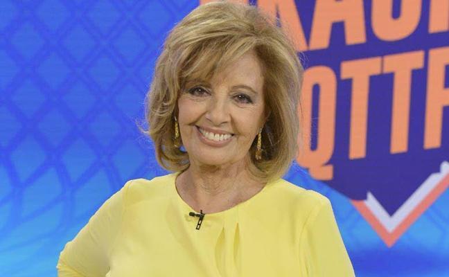 María Teresa Campos recupera la visión del ojo