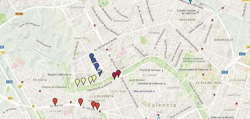 ¿Dónde está el radar móvil hoy en Valencia? Martes 25 de julio