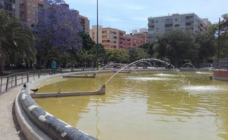 Fotos del parque Enrique Granados en Patraix