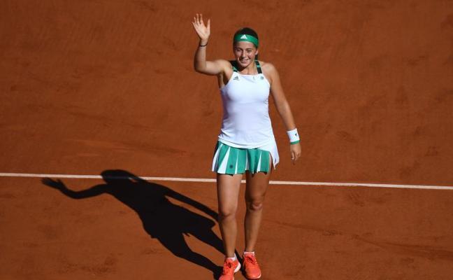 Jelana Ostapenko, la discípula de Anabel Medina, gana Roland Garros