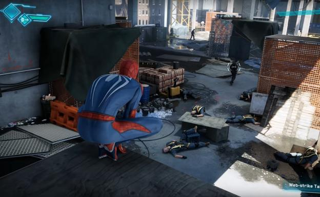 Una captura de 'Spider-Man'./