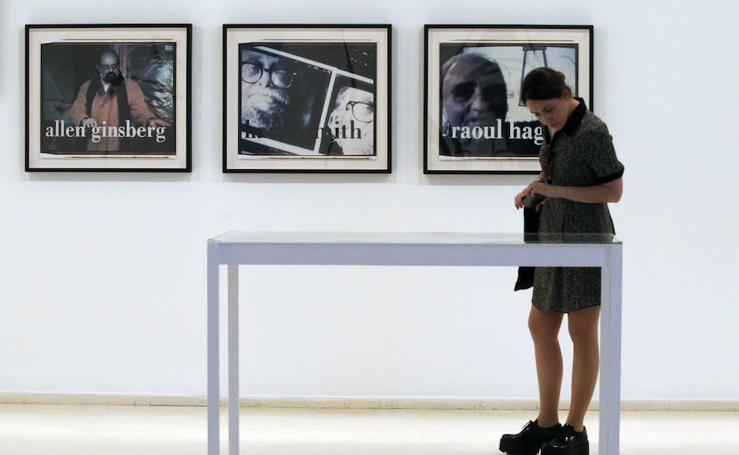 Fotos de la exposición de Robert Frank en el IVAM