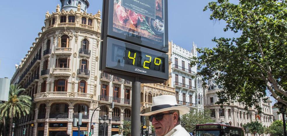 El mes de junio de 2017 en la Comunitat, el segundo más cálido desde 1950