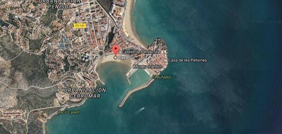 Fallece un anciano en la playa sur de Peñíscola tras ser rescatado inconsciente del agua