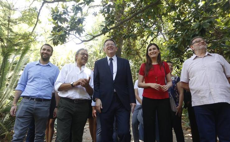 Fotos de la presentación de la candidatura de Ximo Puig a las primarias del PSPV