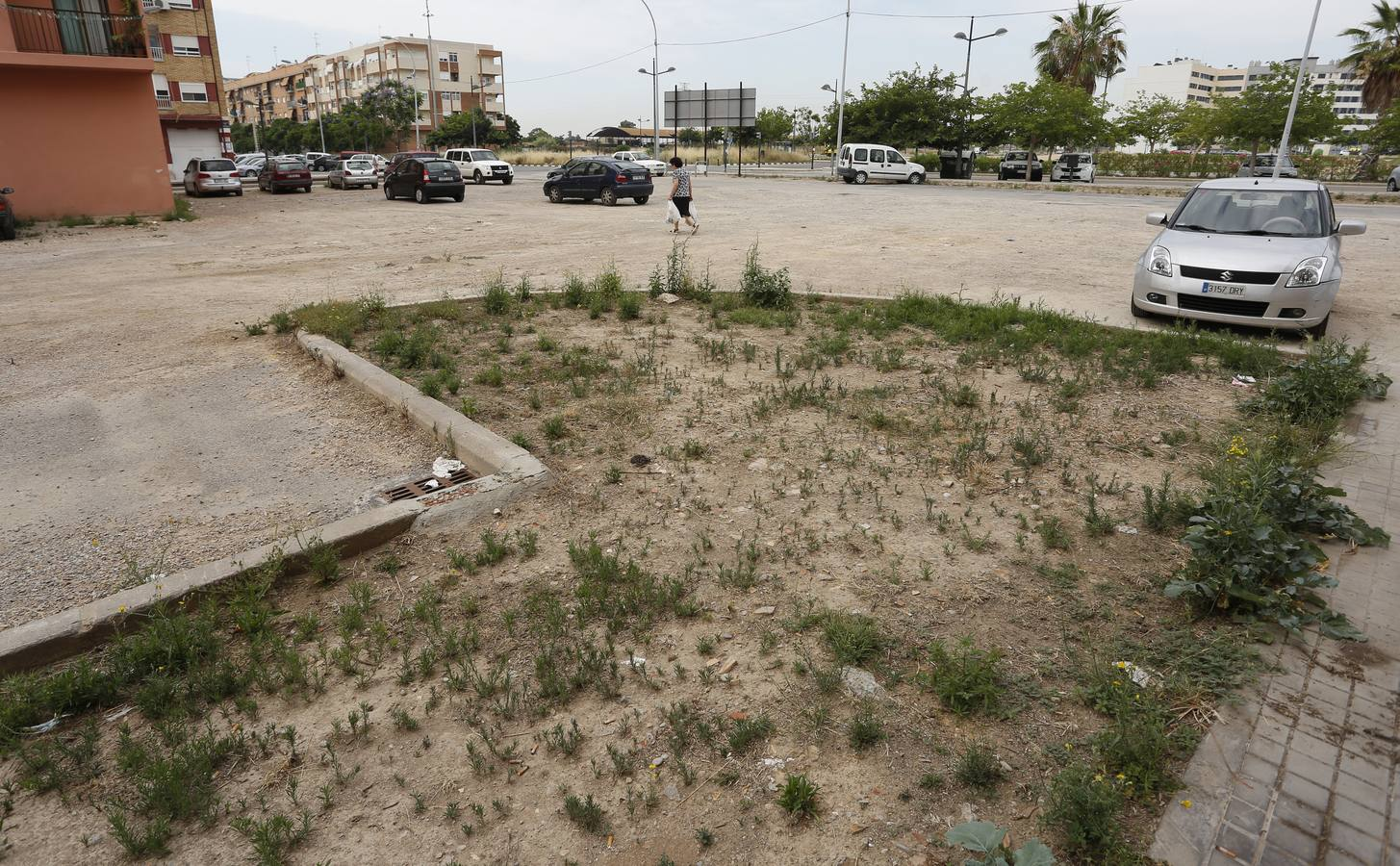 Fotos de la degradación del barrio de Nazaret