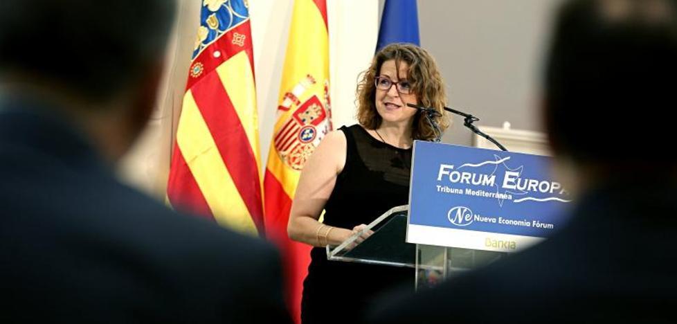 Elena Cebrián advierte de que la temperatura anormalmente alta del agua aumenta el riesgo de gota fría el próximo otoño